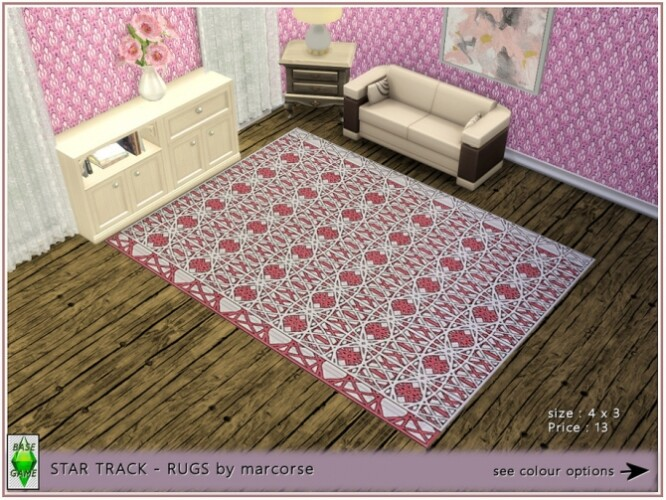 Star Tracks Rugs by marcorse