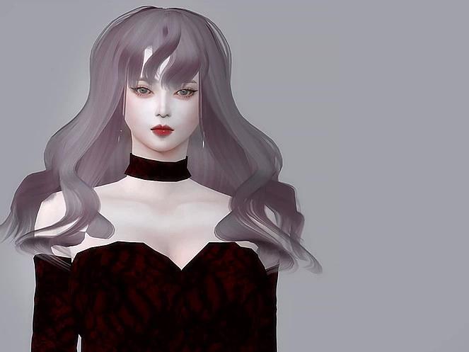Sims 4 PLERNGPIZ HAIR at Nilyn Sims 4
