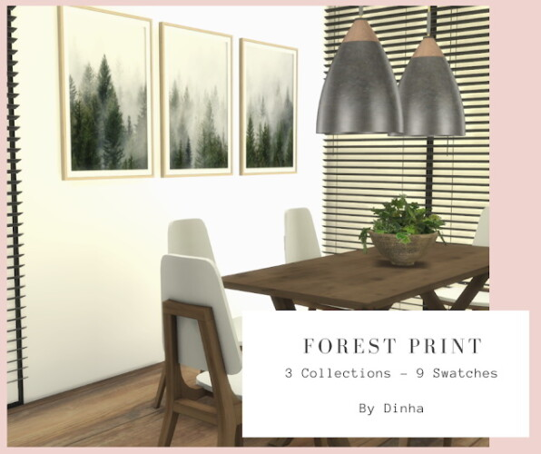 Forest Print 3 Collections 9 Swatches