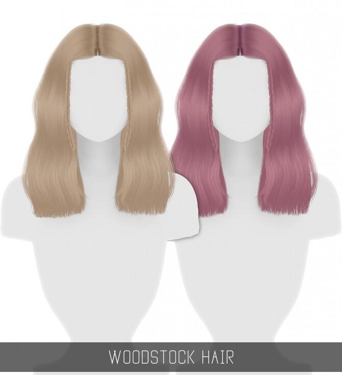 Sims 4 WOODSTOCK HAIR at Simpliciaty