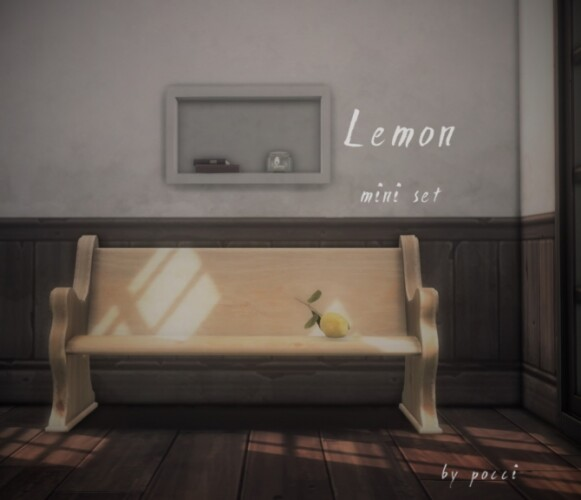 Lemon mini set