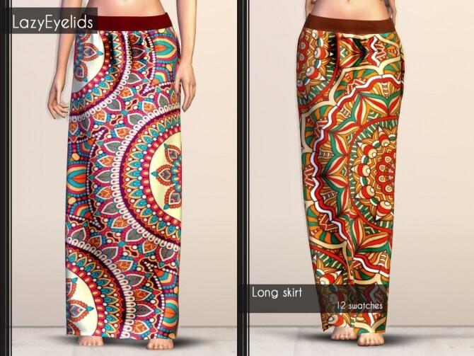 Short dress, Long skirt, 3 Tops (with straps, cross & ruffle) at LazyEyelids image 1906 670x503 Sims 4 Updates