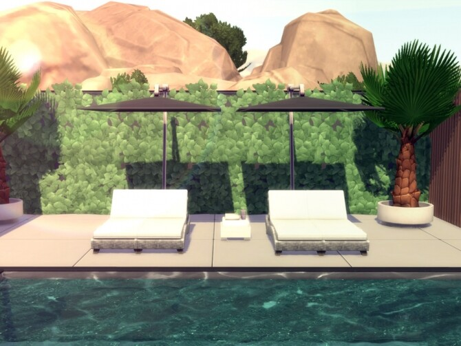 Sims 4 Elegant Contemporary Home by Summerr Plays at TSR