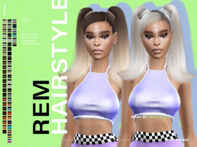 REM Hairstyle by Leah Lillith