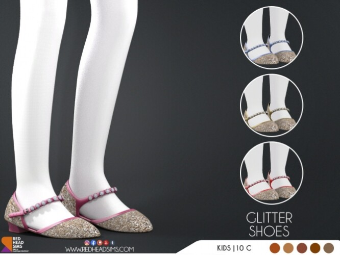 GLITTER SHOES KIDS TODDLER