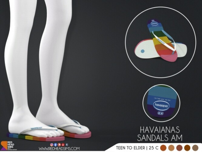 HAVAIANAS SANDALS by Thiago Mitchell