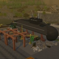 Nautilus submarine by PinkCherub
