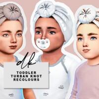 Toddler Turban Knot Recolours