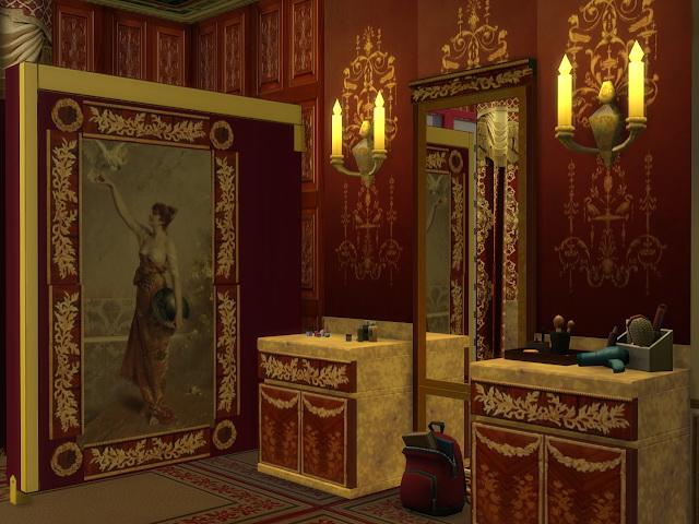 Chanson Bathroom Set at Anna Quinn Stories image 2003 Sims 4 Updates