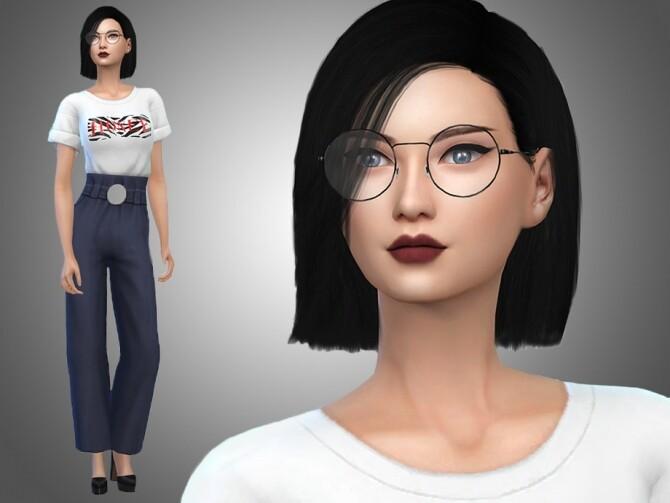 Sims 4 Yesenia Yuen by Mini Simmer at TSR