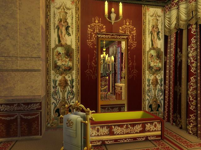 Chanson Bathroom Set at Anna Quinn Stories image 2032 Sims 4 Updates