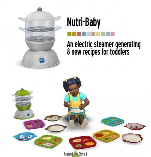 Baby Steamer Toddler food