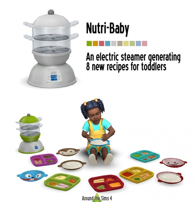 Sims 4 Baby Steamer & Toddler food at Around the Sims 4