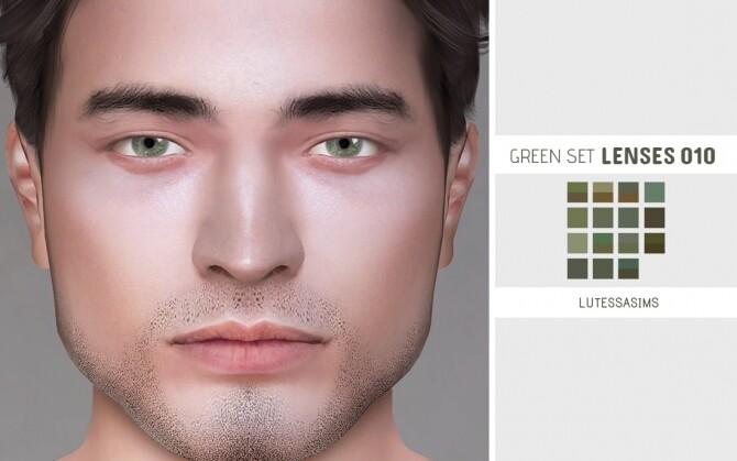 Green Set LENSES 010 at Lutessa image 2052 670x419 Sims 4 Updates