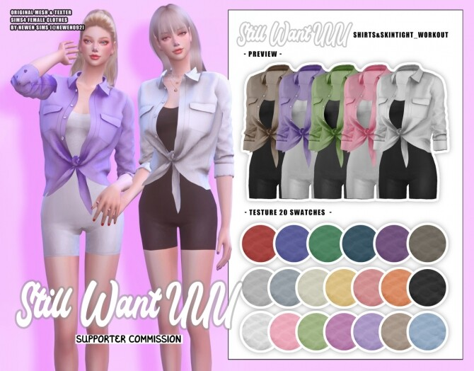 Still Want UUU clothes collection at NEWEN image 2064 670x524 Sims 4 Updates