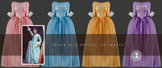 Long Corset Dresses at NEWEN image 2075 670x283 Sims 4 Updates