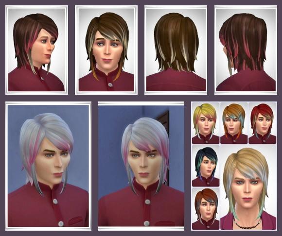 Sims 4 Kiran Hair at Birksches Sims Blog