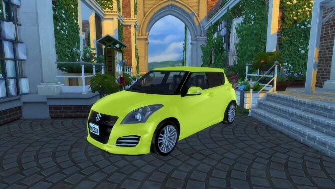 2012 Suzuki Swift Sport at Modern Crafter CC image 2081 670x377 Sims 4 Updates