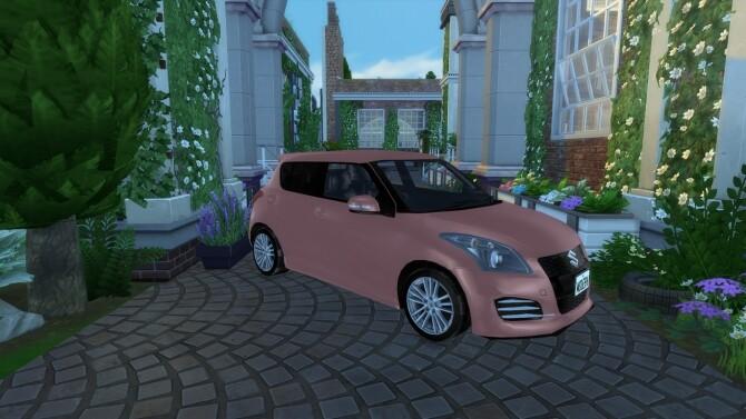 Sims 4 2012 Suzuki Swift Sport at Modern Crafter CC