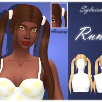 Runi Hairstyle Set by Sylviemy