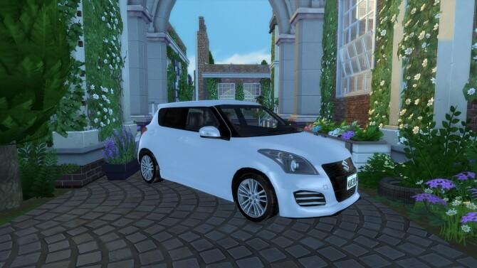2012 Suzuki Swift Sport at Modern Crafter CC image 2114 670x377 Sims 4 Updates
