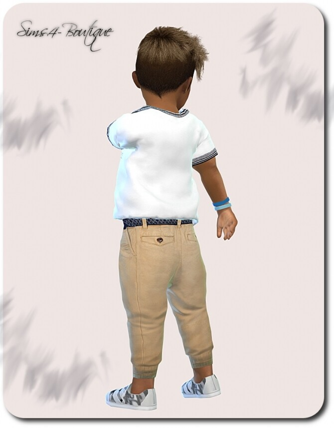 Designer Set for Toddler Boys 1609 at Sims4 Boutique image 2123 670x857 Sims 4 Updates