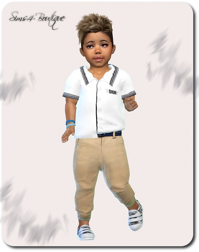 Designer Set for Toddler Boys 1609 at Sims4 Boutique image 2133 670x849 Sims 4 Updates
