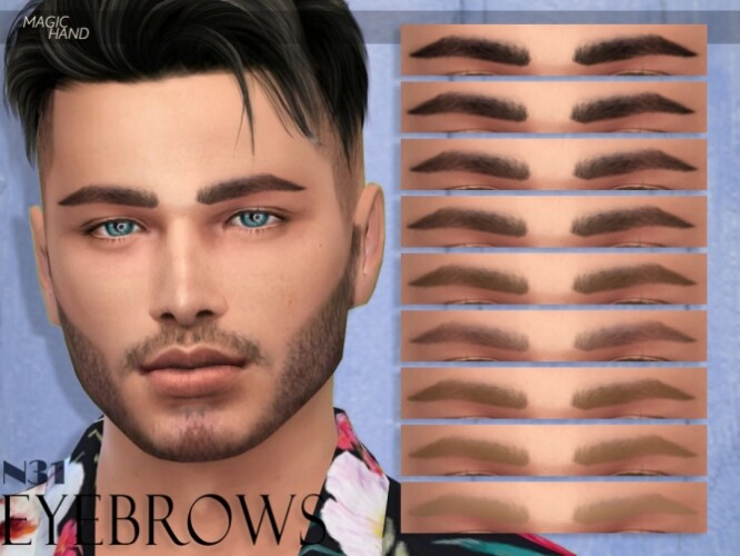 Eyebrows N31 by MagicHand