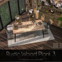 Rustic Wood Plank 3 by Caroll91