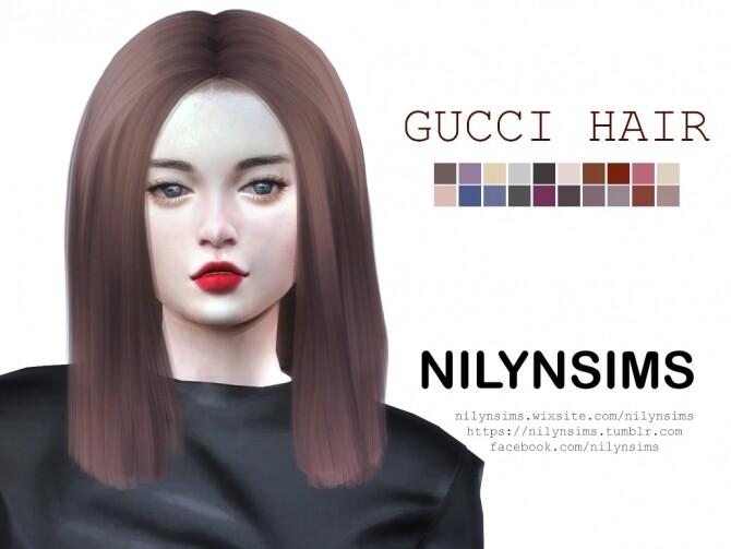 G. hair at Nilyn Sims 4 image 2143 670x503 Sims 4 Updates