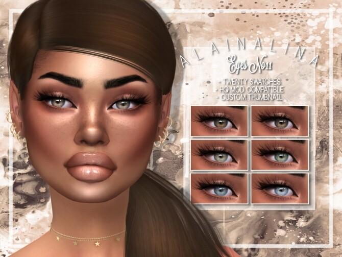Sims 4 Eyes No11 at AlainaLina