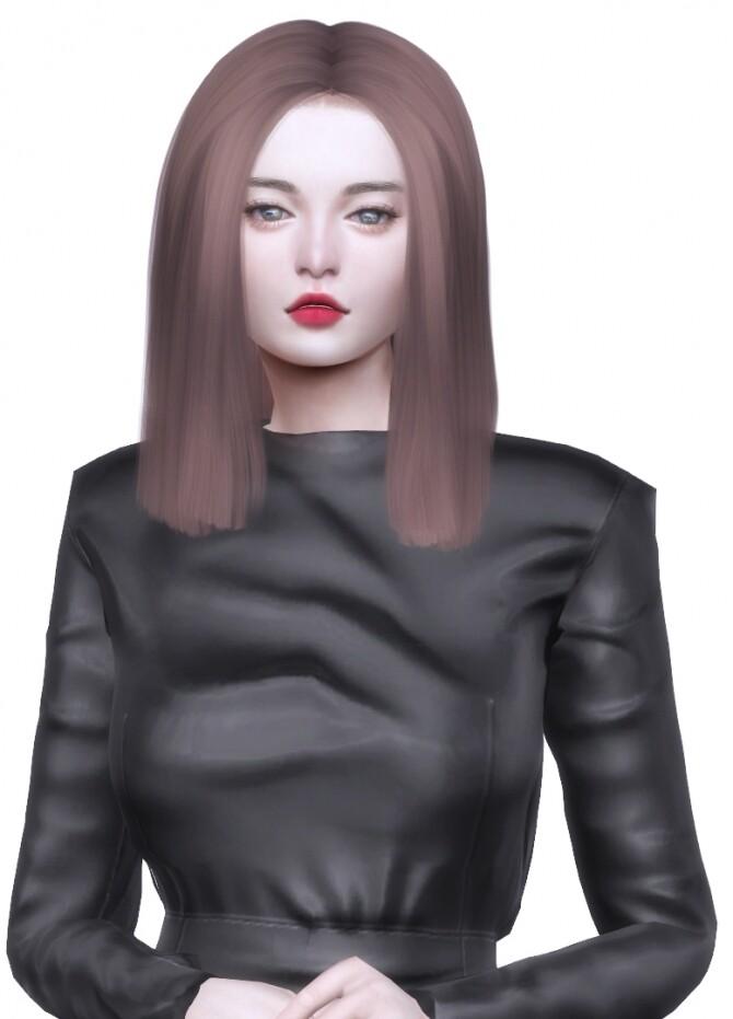 Sims 4 G. hair at Nilyn Sims 4