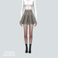 PP Flare Mini Skirt