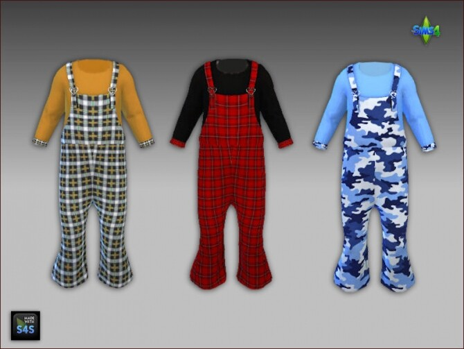 6 Overalls and socks for toddlers at Arte Della Vita image 2172 670x503 Sims 4 Updates