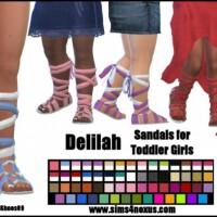 Delilah sandals by SamanthaGump