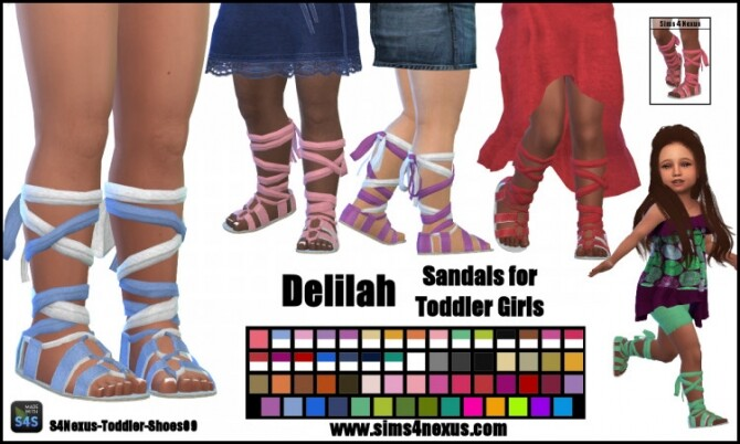 Delilah sandals by SamanthaGump