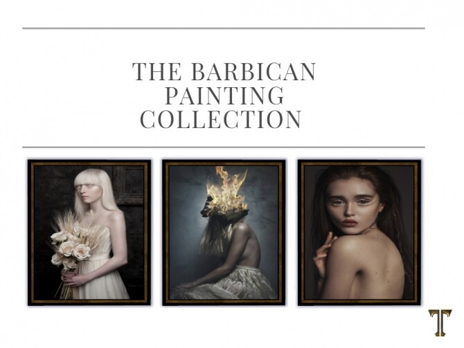 Barbican painting collection at Tilly Tiger image 2202 670x503 Sims 4 Updates