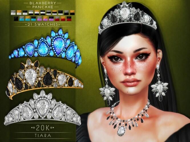 Tiara necklaces earrings