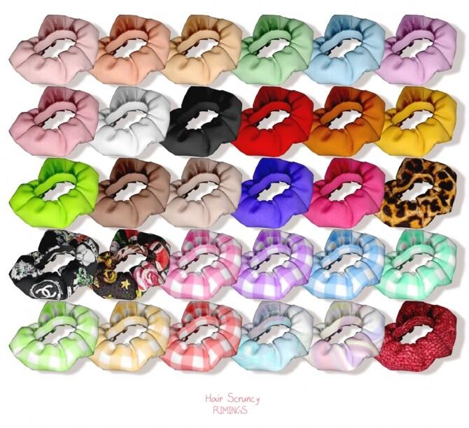 Frill Cardiagan & Sleeveless Dress & Hair Scruncy at RIMINGs image 22210 670x612 Sims 4 Updates