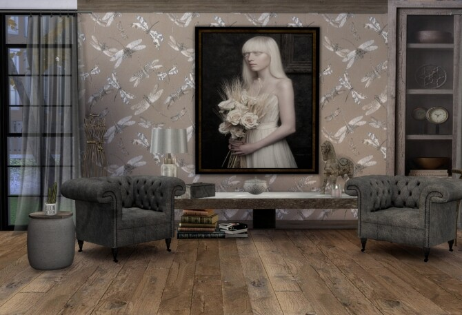 Barbican painting collection at Tilly Tiger image 2223 670x457 Sims 4 Updates