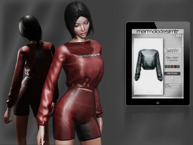 Sweatshirt MC66 by mermaladesimtr