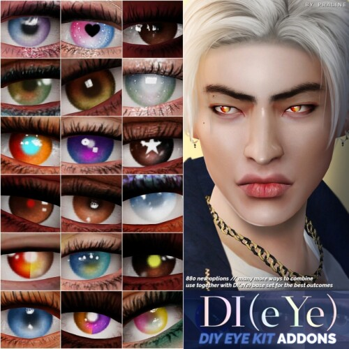 DIY Eye Kit ADDONS