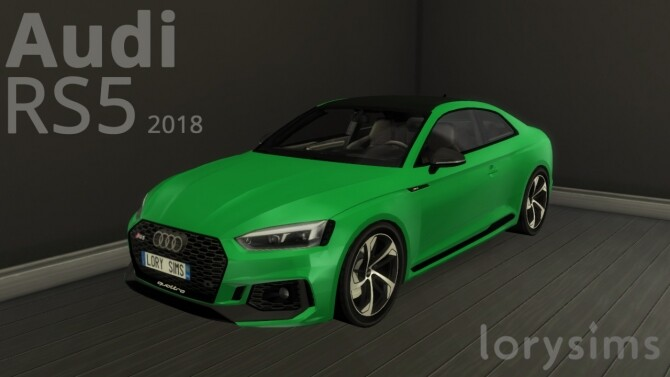 Audi RS5 2019 by LorySims