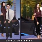 Couple Car Poses