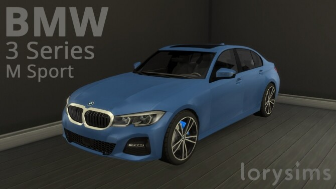BMW 3 Series M Sport by LorySims