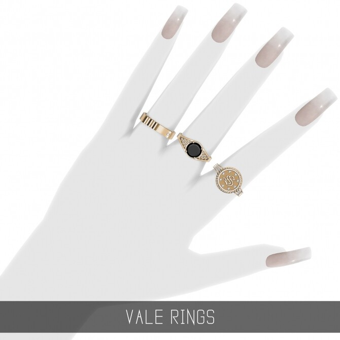 Sims 4 VALE RINGS at Simpliciaty
