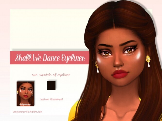 Shall We Dance Eyeliner by LadySimmer94