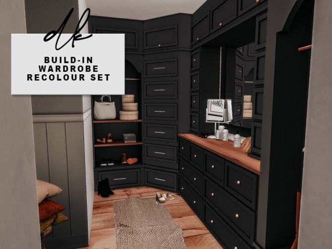 Built in Wardrobe pt. 1 at DK SIMS image 2318 670x503 Sims 4 Updates