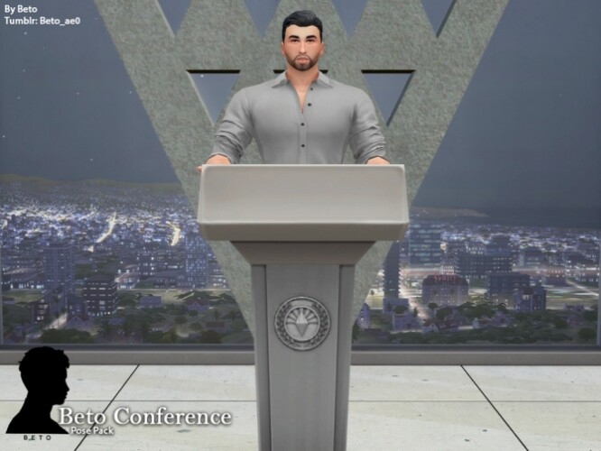 Conference Pose Pack by Beto_ae0