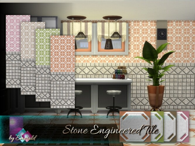 Stone Engineered Tile by emerald